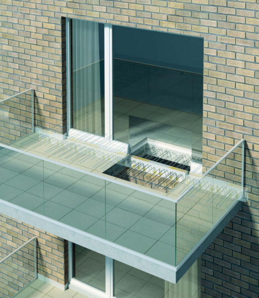 An effective thermal break combats condensation and mould growth