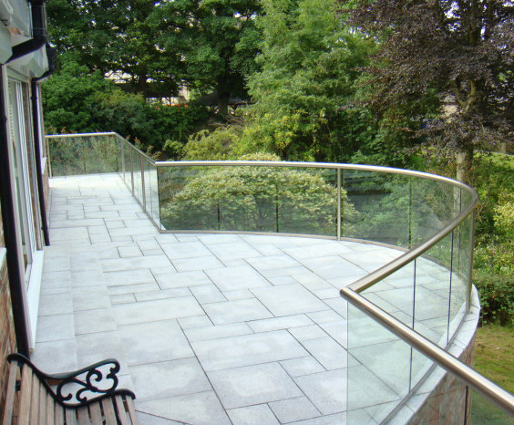 Glass balustrading offers limitless design concepts for Balcony concept