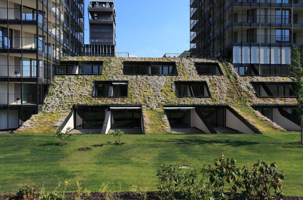 Pitched Green Roofs – A Modern Design Element | Architecture ...