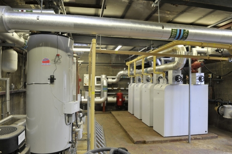 Range High School Plant Room