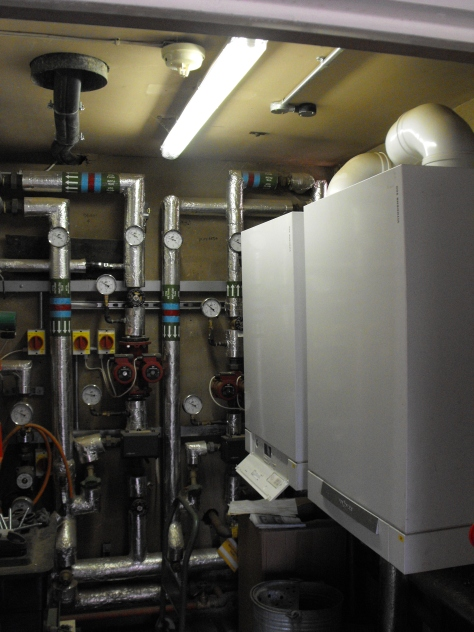 Kingswood Nursery & Infant Centre in Wolverhampton has a dedicated plant room featuring the latest controls to maximise the input from the solar collectors and two Viessmann Vitodens 300 gas-fired boilers.