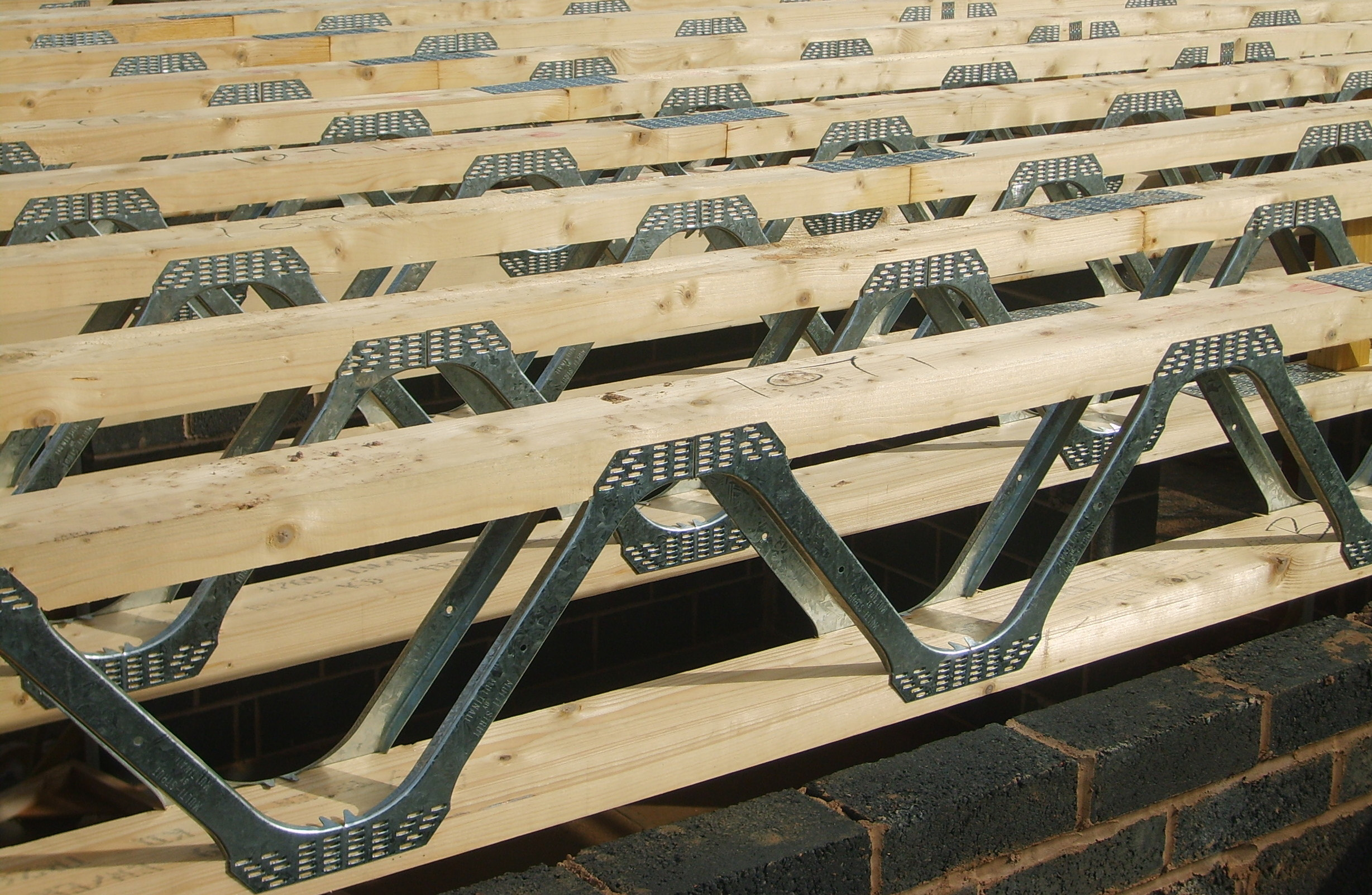 Easi joists best performance less cost architecture for Open web trusses