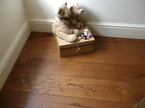 Once fitted, a Bausen 1757 floor will look as if it has been down for years