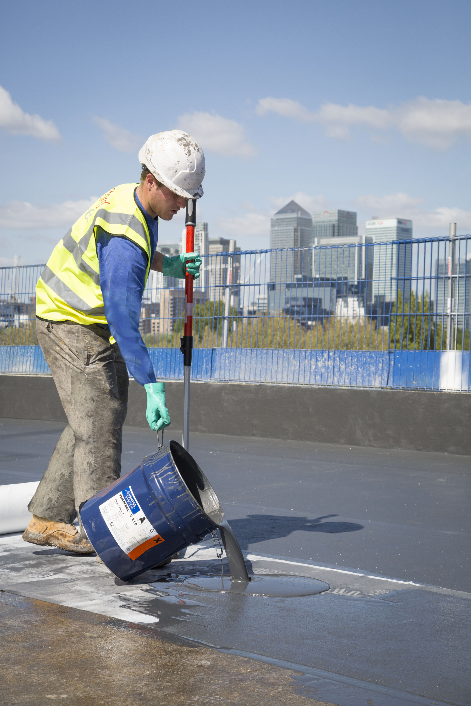 Green Roof Waterproofing Is A Walk In The Parkside For