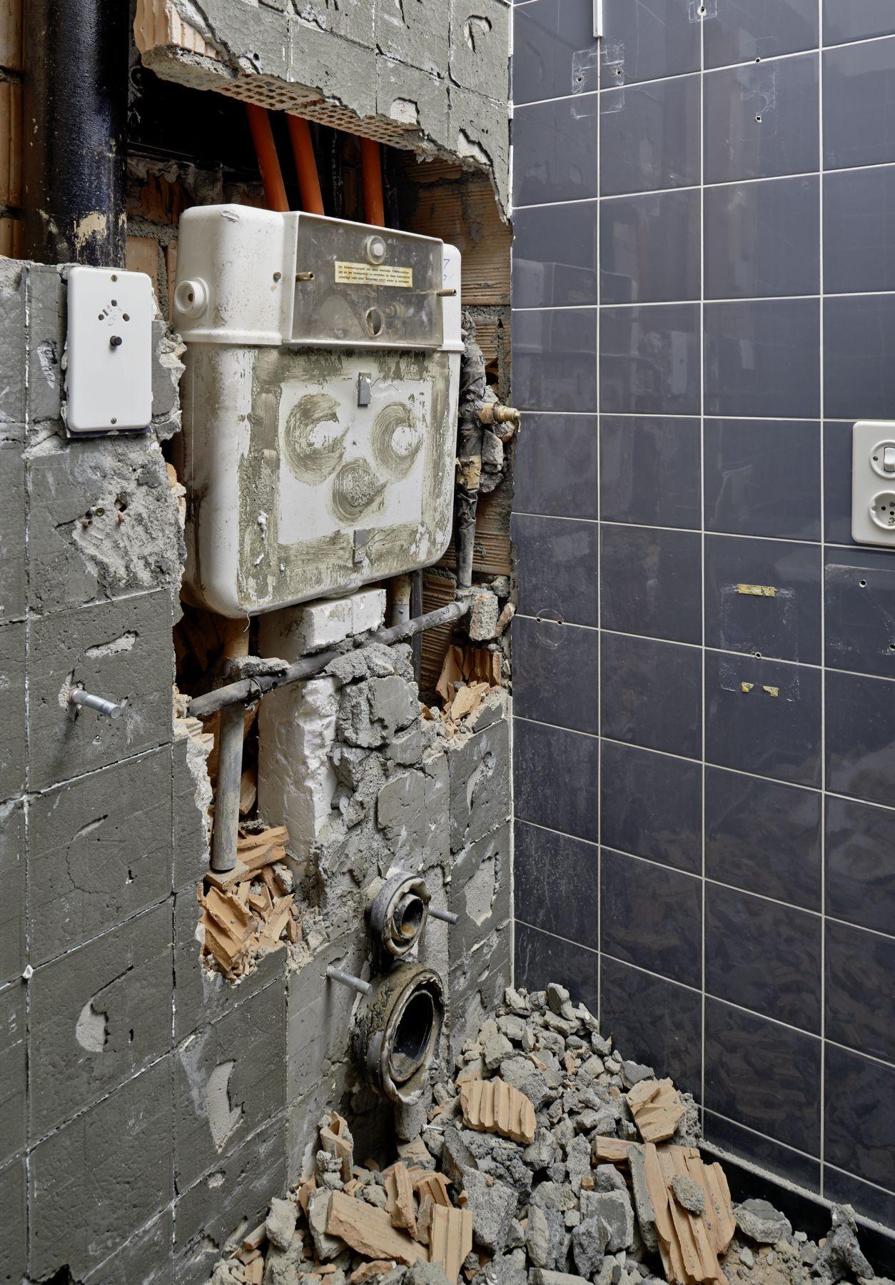 Air Flush Toilet