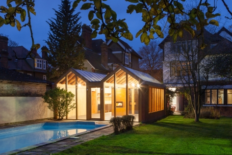 Studio, Oxford by James Wyman Architects © uintin Lake Photography