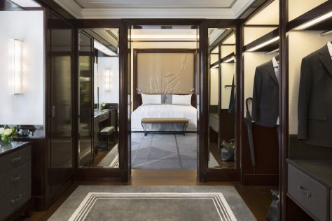 The Peninsula Paris-Suite Deluxe  Dressing-vicaima