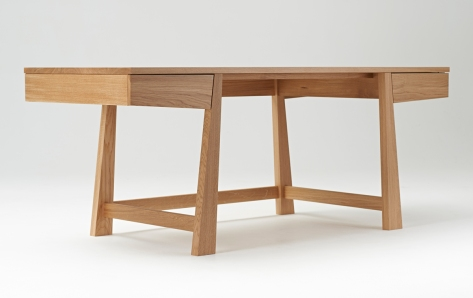 Bespoke Funiture Winner Oak furniture for Dickson Poon Centre by Makers' Eye