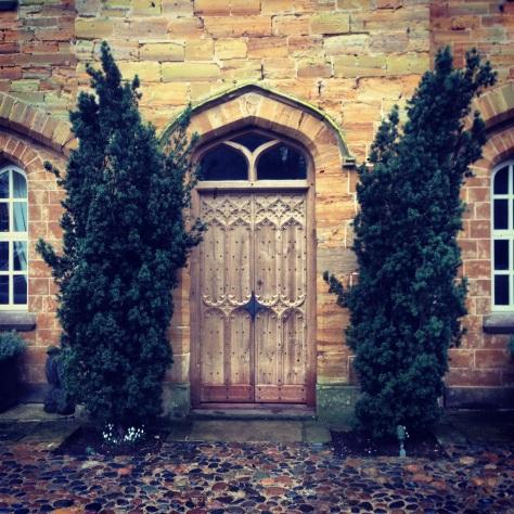 Judges Special Award Hand carved oak gothic doors by Jack Badger Ltd
