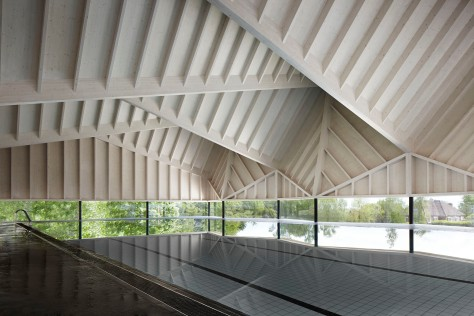 Structural Winner Alfriston School Swimming Pool by Duggan Morris Architects