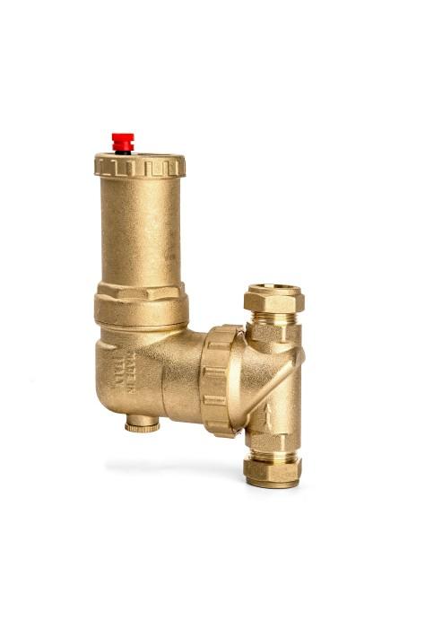 intavent brass air separator