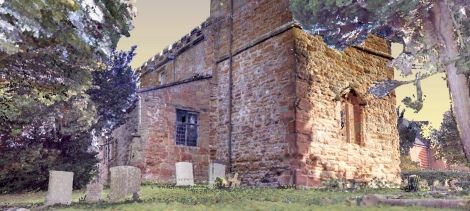 11th Century church captured with 9 laser scans, colourised in HDR within 15 minutes using ColourCloud