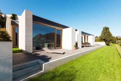 Imago Lift&Slide Doors on villa