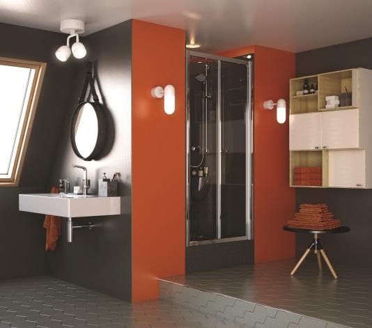 ShowerPod Orange
