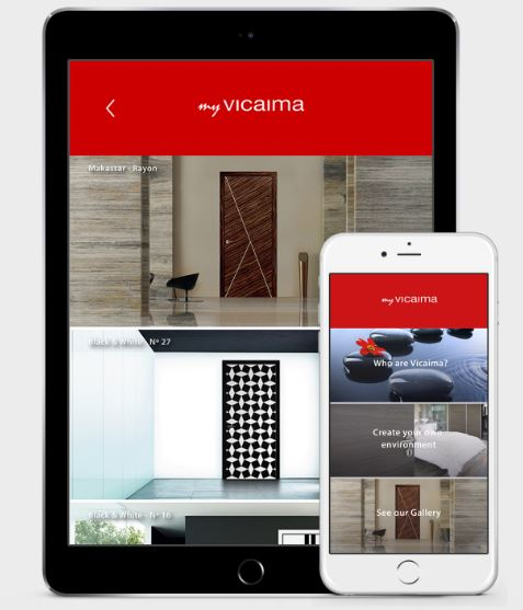 Vicaima make it snappy with new doors app architecture for Door design app