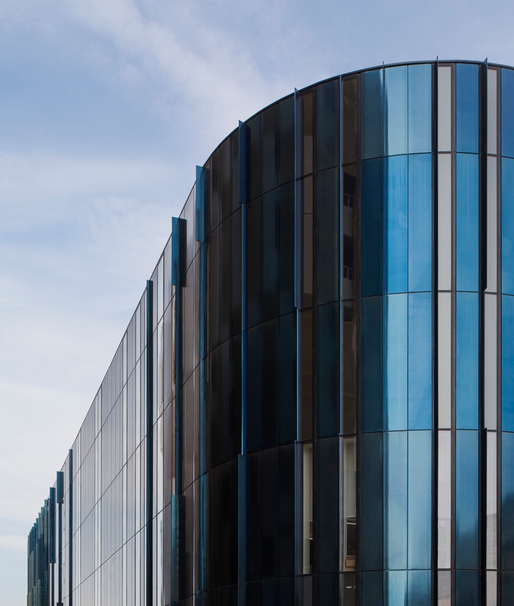 Mecanoo Architects Use Trimo S Bespoke Panel Solution For Home Manchester City Centre